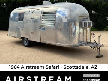 Trailer Sales: SOLD : 1964 Airstream Safari - Unrestored -