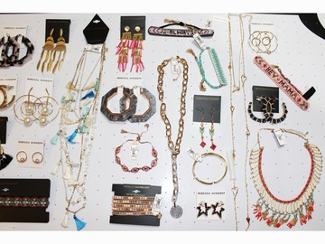 Liquidation / Lot de gros: 60 Pc Rebecca Minkoff High End Jewelry Lot Over $3600 Value