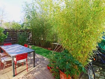 Vente: Parc de Maisons Laffitte, maison en copropriété: 111m² - 80m² jar