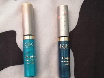 Venta: Eyeliners Azul oscuro y claro de kiko