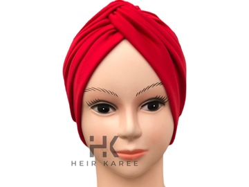 For Sale: SOFT CREPE SCUBA TWISTED HAIR TURBAN