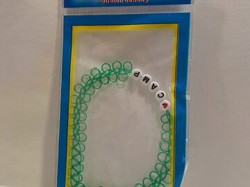 Selling multiple of the same items: New Green Love Camp Choker Necklace