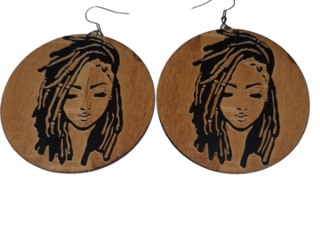 For Sale: Natural Wood Earrings