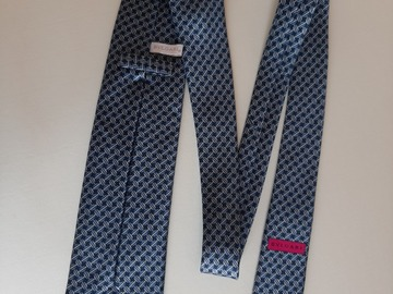 Selling with online payment: Bulgarije seven fold printed silk tie