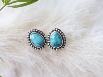 Selling: Turquoise post earrings