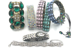 Liquidation/Wholesale Lot: 50 Boutique Bracelets Great Mix & Variety- Everyone Different