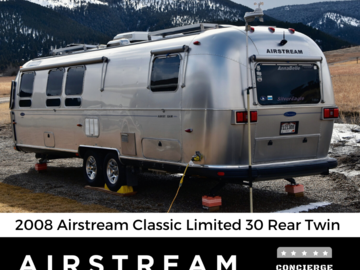 Trailer Sales: 2008 Airstream Classic Limited - 30 Rear Twin