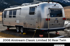 For Sale: 2008 Airstream Classic Limited - 30 Rear Twin