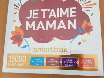 """Vente: Coffret Smartbox """"Je t'aime Maman"""" (49,90€)"""