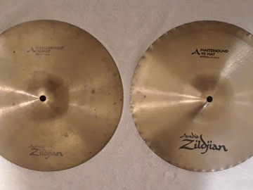 "Selling with online payment: Zildjian A MasterSound 13"" Hi Hats"