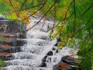 Sell Artworks: The waterfall