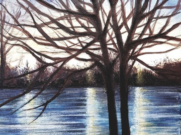 Sell Artworks: Tree silhouette