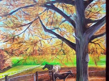 Sell Artworks: Horse shade