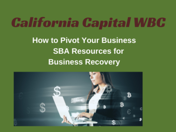 Announcement: Pivot Your Business & SBA Resources for Business Recovery