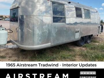 Trailer Sales: 1965 Airstream Tradewind - 24 ft. Twin Axle