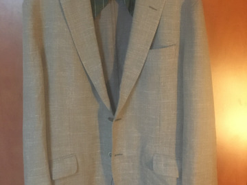 Selling with online payment: Hackett summer sportcoat UK40/50