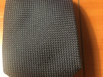 Selling with online payment: NWT Giuerre Milano green woven silk tie