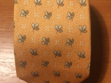 Selling with online payment: Giorgie Redaelli printed silk tie