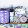 Selling with online payment: Lavender Lover Gift Box Collection