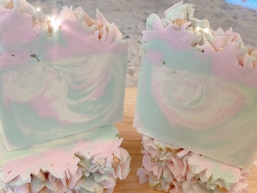 Selling with online payment: Sweet Pea Artisan Soap Bar