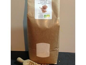 Vente avec paiement en ligne: Farine de blé Bise BIO - 1 kg