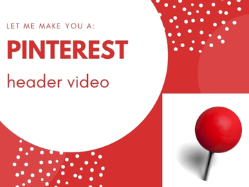 Offering online services: Create A Header Video