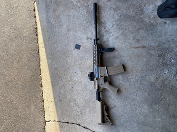 Selling: G&G raider with mods
