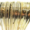 Liquidation/Wholesale Lot: 50 Piece XTRA FANCY Chain Assortment 14 KT Gold overlay Made USA