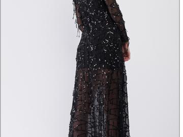 Liquidation/Wholesale Lot: 5  Black Sequin Kimonos Brand: Nordstrom Dellore