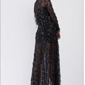 Liquidation / Lot de gros: 5  Black Sequin Kimonos Brand: Nordstrom Dellore