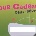 Vente: Chèque Cadeau Deux-Sèvres (30€)