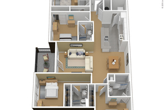 List Your Space: 1br in Courtyards 4x4