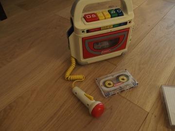 Vente: Magnétophone à cassette playskool