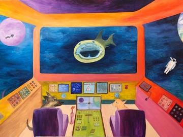 Sell Artworks: JAWS & STARS