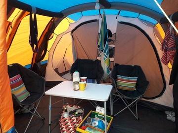 Renting out with online payment: Olpro Cocoon Breeze Air Tent/Campervan awning