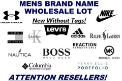 Liquidation/Wholesale Lot: Name Brand Men's Apparel by UA, Polo, & More!   Free Shipping!