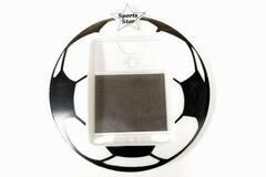 "Liquidation/Wholesale Lot: ""Sports Star"" Soccer Themed Photo Frame Magnet"
