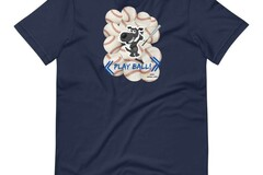 Selling: Baseball & Dogs - Play Ball T-Shirt