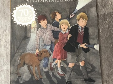Selling with online payment: The Famous Five - Five Go Adventuring Again
