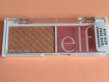 Venta: Bitesize palette ELF blush/iluminador Pomegranate