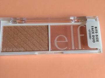 Venta: Bitesize palette ELF blush/iluminador Lychee
