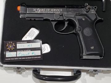 Selling: LIMITED EDITION UMAREX 574/1000 30TH ANNIVERSARY BARETTA M9