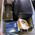 Liquidation/Wholesale Lot: Electronics, tools and accessories box as pictured