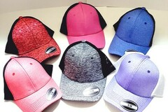 Liquidation/Wholesale Lot: Waycap Stylish Fitted Baseball Cap Hats With Mesh Back