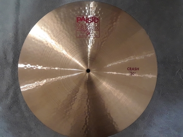 "Selling with online payment: Paiste 2002 20"" Crash Cymbal"