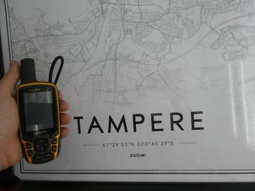 Vuokrataan (päivä): GPS, Garmin gpsmap 64