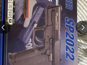Selling: sig sauer sp 2022