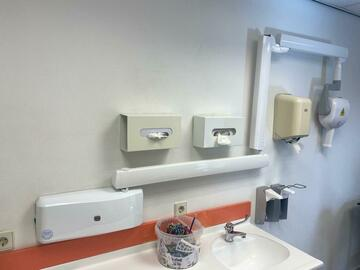 Gebruikte apparatuur: Complete tandarts inventaris