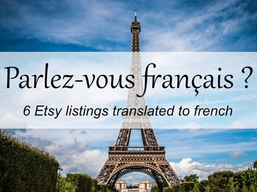 Offering online services: 6 listings translated to french