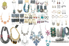 Liquidation/Wholesale Lot: Facebook Live Jewelry lot- 50 pieces- All The Best Hand picked